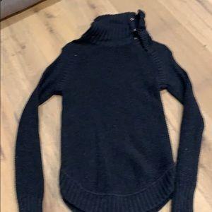 Lululemon cowl neck charcoal sweater